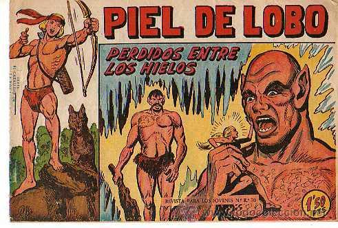 PIEL DE LOBO (MAGA) Nº 17 (Tebeos y Comics - Maga - Piel de Lobo)