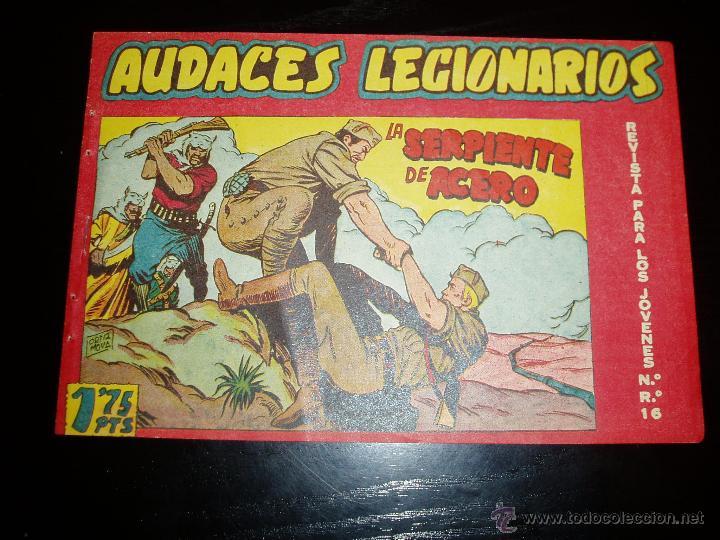 AUDACES LEGIONARIOS Nº 9. ORIGINAL. MAGA. (Tebeos y Comics - Maga - Otros)