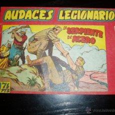 Tebeos: AUDACES LEGIONARIOS Nº 9. ORIGINAL. MAGA.. Lote 42188762