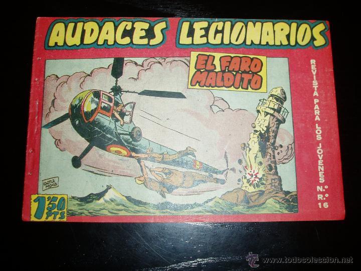AUDACES LEGIONARIOS Nº 6. ORIGINAL. MAGA. (Tebeos y Comics - Maga - Otros)