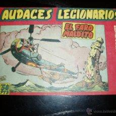 Tebeos: AUDACES LEGIONARIOS Nº 6. ORIGINAL. MAGA.. Lote 42188798