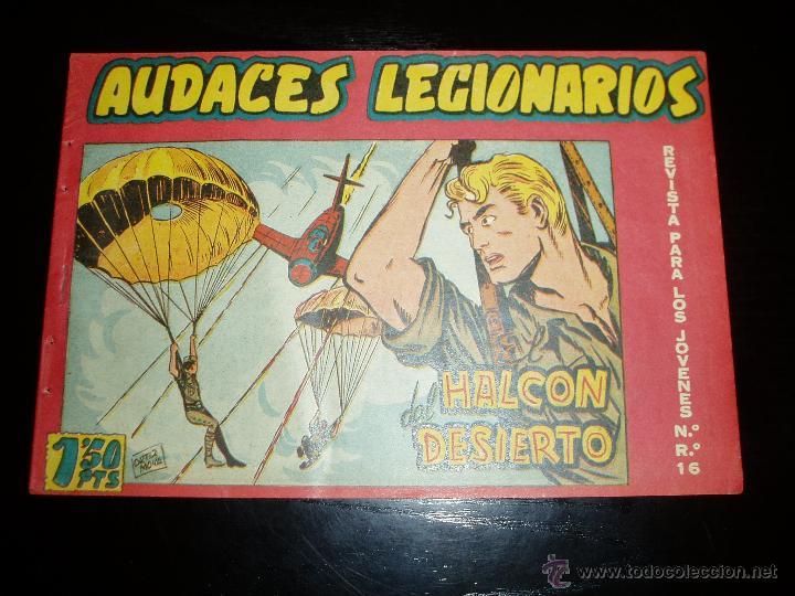 AUDACES LEGIONARIOS Nº 5. ORIGINAL. MAGA. (Tebeos y Comics - Maga - Otros)