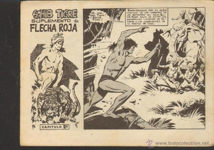 TEBEOS-COMICS CANDY - SAHIB TIGRE - Nº 2 - ED. MAGA - 1964 - ORIGINAL - DIFICIL *AA99 (Tebeos y Comics - Maga - Otros)