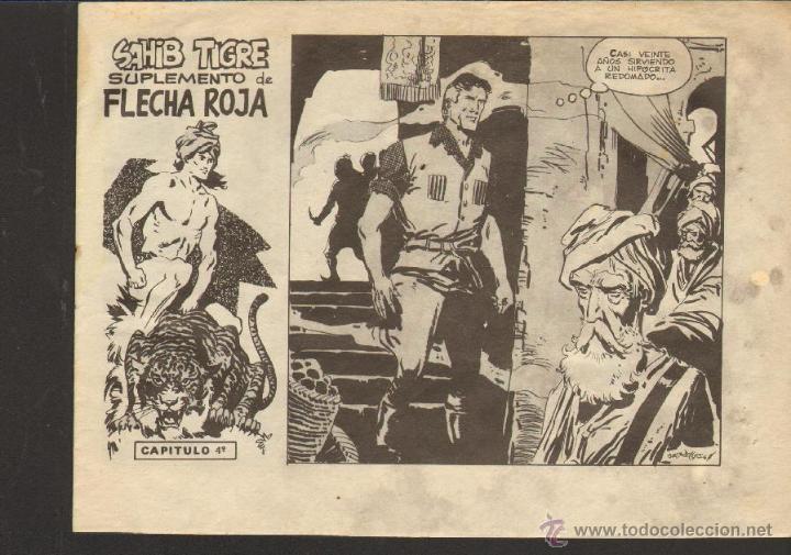TEBEOS-COMICS CANDY - SAHIB TIGRE 4 - ED. MAGA - 1964 - ORIGINAL - DIFICIL *UU99 (Tebeos y Comics - Maga - Otros)
