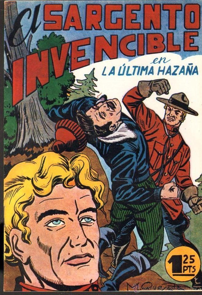 TEBEOS-COMICS CANDY - EL SARGENTO INVENCIBLE - Nº 12 ULTIMO - ED. MAGA - 1951 *DD99 (Tebeos y Comics - Maga - Otros)