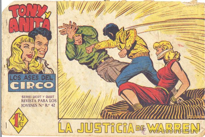 TONY Y ANITA 48 (2ª ÉPOCA). ORIGINAL. NÚMERO DIFÍCIL (Tebeos y Comics - Maga - Tony y Anita)
