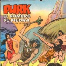 Tebeos: TEBEOS-COMICS CANDY - PURK EL HOMBRE DE PIEDRA - Nº 18 - VALENCIANA - 1974 - MANUEL GAGO *AA99. Lote 42315075