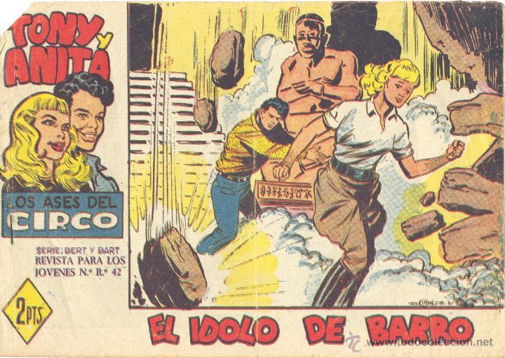 TONY Y ANITA 54 (2ª ÉPOCA). ORIGINAL. (Tebeos y Comics - Maga - Tony y Anita)