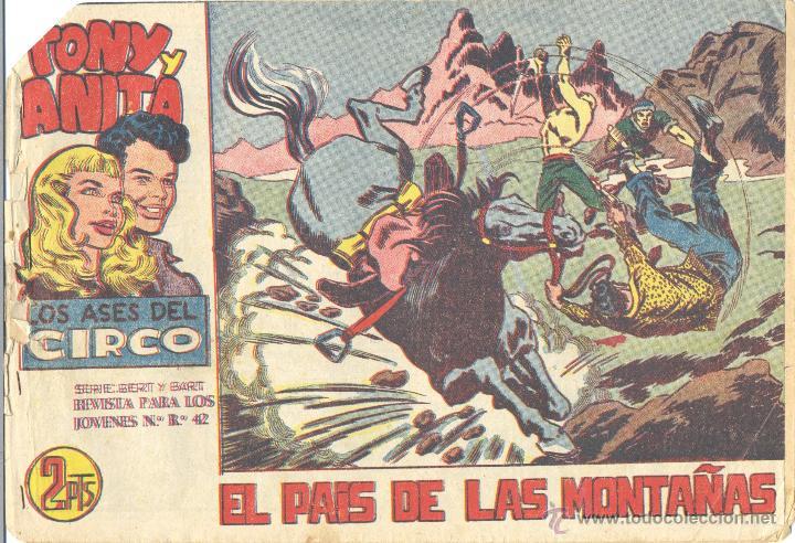 TONY Y ANITA 72 (2ª ÉPOCA). ORIGINAL. NÚMERO DIFÍCIL (Tebeos y Comics - Maga - Tony y Anita)