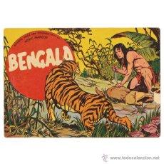 Tebeos: BENGALA. MAGA, 1959. COMPLETA (54 EJEMPLARES) CONSERVACIÓN MEDIA BUENA. Lote 42536834