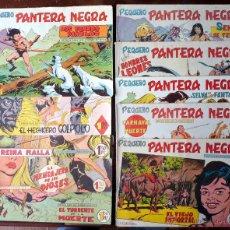 Tebeos: LOTE DE 10 TEBEOS PEQUEÑO PANTERA NEGRA VALENCIA 1958 ORIGINALES. Lote 42545048