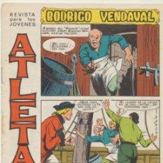 Tebeos: ATLETAS Nº 4. RODRIGO VENDAVAL.. Lote 42549004