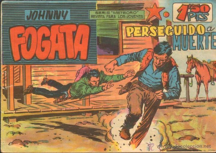 TEBEOS-COMICS CANDY - JOHNNY FOGATA - Nº 3 - ORIGINAL - MUY DIFICIL *BB99 (Tebeos y Comics - Maga - Otros)