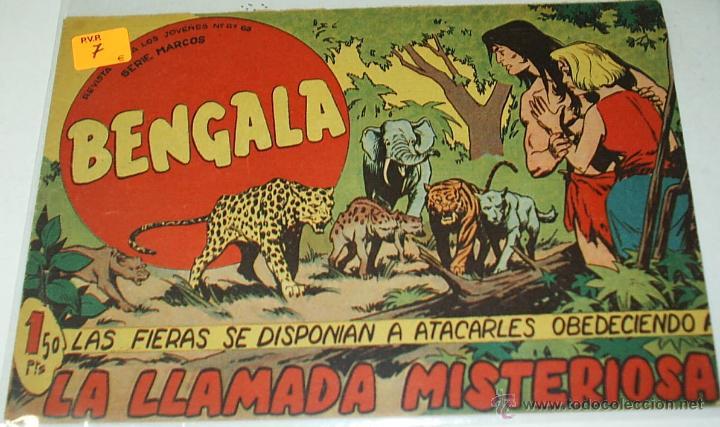 BENGALA Nº 53 - MAGA - ORIGINAL (Tebeos y Comics - Maga - Bengala)