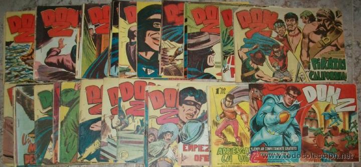 DON Z (MAGA) 90 EJ (COMPLETA) (ORIGINAL) (Tebeos y Comics - Maga - Don Z)