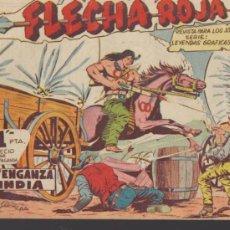 Tebeos: FLECHA ROJA. MAGA 1962. COLECCIÓN COMPLETA 79 EJEMPLARES.. Lote 37275696