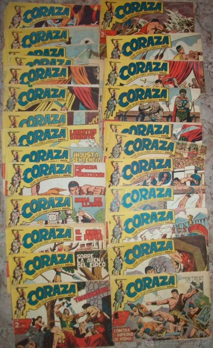 CORAZA (MAGA) 64 EJ (COMPLETA) VER DESCRIPCION (Tebeos y Comics - Maga - Otros)