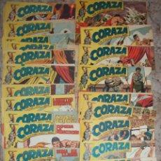 Tebeos: CORAZA (MAGA) 64 EJ (COMPLETA) VER DESCRIPCION. Lote 43035625