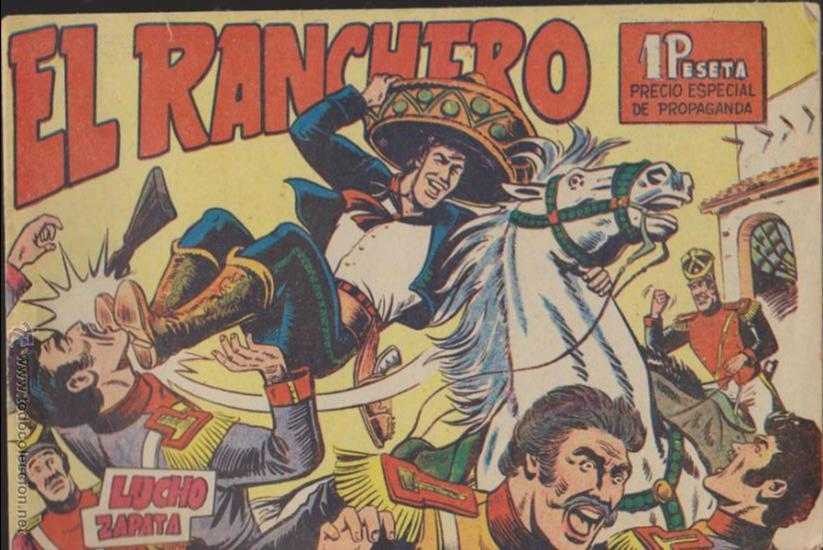 EL RANCHERO. COLECCIÓN COMPLETA 32 EJEMPLARES. (Tebeos y Comics - Maga - Otros)
