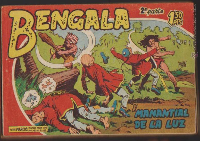 BENGALA 2ª. MAGA 1960. COLECCIÓN COMPLETA 45 EJEMPLARES. (Tebeos y Comics - Maga - Bengala)