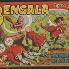 Tebeos: BENGALA 2ª. MAGA 1960. COLECCIÓN COMPLETA 45 EJEMPLARES.. Lote 35605578