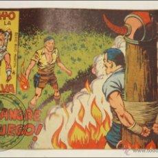 Giornalini: ANTIGUO CÓMIC - RAYO DE LA SELVA - 7. ¡A SANGRE Y FUEGO! - EDITORIAL MAGA - 1960. Lote 43197537