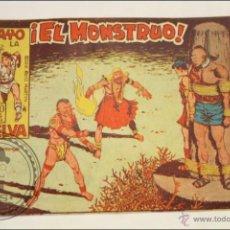 Giornalini: ANTIGUO CÓMIC - RAYO DE LA SELVA - 11. ¡EL MONSTRUO! - EDITORIAL MAGA - 1960. Lote 43197569
