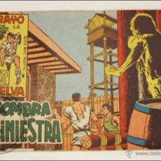 Giornalini: ANTIGUO CÓMIC - RAYO DE LA SELVA - 13. SOMBRA SINIESTRA - EDITORIAL MAGA - 1960. Lote 43197580