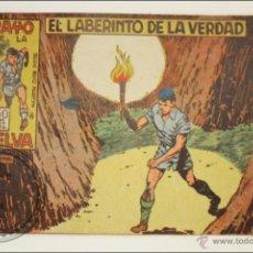 Giornalini: ANTIGUO CÓMIC - RAYO DE LA SELVA - 17. EL LABERINTO DE LA VERDAD - EDITORIAL MAGA - 1960. Lote 43197619