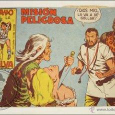 Giornalini: ANTIGUO CÓMIC - RAYO DE LA SELVA - 16. MISIÓN PELIGROSA - EDITORIAL MAGA - 1960. Lote 43197631