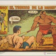 Giornalini: ANTIGUO CÓMIC - RAYO DE LA SELVA - 28. EL TORNEO DE LA MUERTE - EDITORIAL MAGA - 1960. Lote 43197767