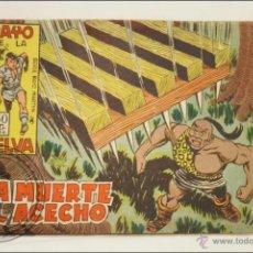Giornalini: ANTIGUO CÓMIC - RAYO DE LA SELVA - 34. LA MUERTE AL ACECHO - EDITORIAL MAGA - 1960. Lote 43197843