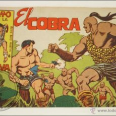 Giornalini: ANTIGUO CÓMIC - RAYO DE LA SELVA - 41. EL COBRA - EDITORIAL MAGA - 1960. Lote 43197928