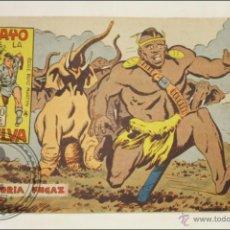 BDs: ANTIGUO CÓMIC - RAYO DE LA SELVA - 45. VICTORIA FUGAZ - EDITORIAL MAGA - 1960. Lote 43197981