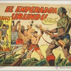 Giornalini: ANTIGUO CÓMIC - RAYO DE LA SELVA - 61. EL EMPERADOR URUNDU - EDITORIAL MAGA - 1960. Lote 43198146