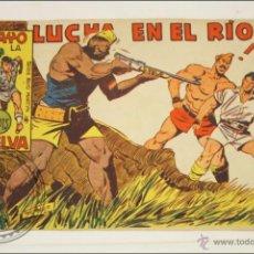 Giornalini: ANTIGUO CÓMIC - RAYO DE LA SELVA - 63. LUCHA EN EL RÍO - EDITORIAL MAGA - 1960. Lote 43198172