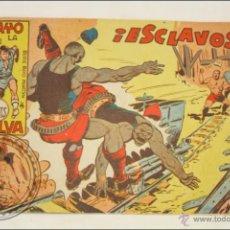 Giornalini: ANTIGUO CÓMIC - RAYO DE LA SELVA - 64. ¡ESCLAVOS! - EDITORIAL MAGA - 1960. Lote 43198179