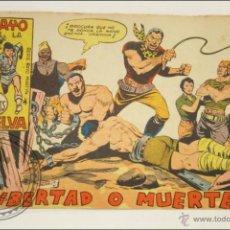 Giornalini: ANTIGUO CÓMIC - RAYO DE LA SELVA - 65. ¡LIBERTAD O MUERTE! - EDITORIAL MAGA - 1960. Lote 43198192