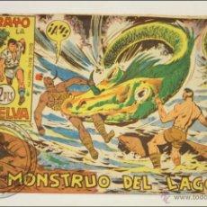 Giornalini: ANTIGUO CÓMIC - RAYO DE LA SELVA - 68. EL MONSTRUO DEL LAGO - EDITORIAL MAGA - 1960. Lote 43198231