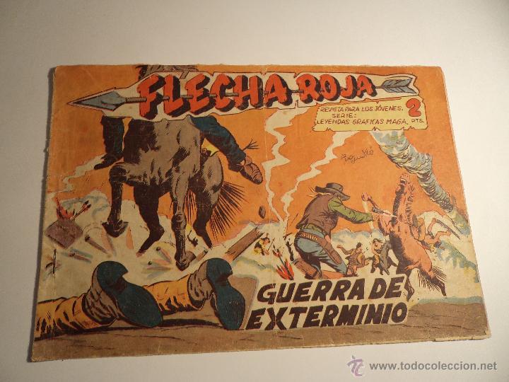 FLECHA ROJA. Nº 32. MAGA. (A-5) (Tebeos y Comics - Maga - Flecha Roja)