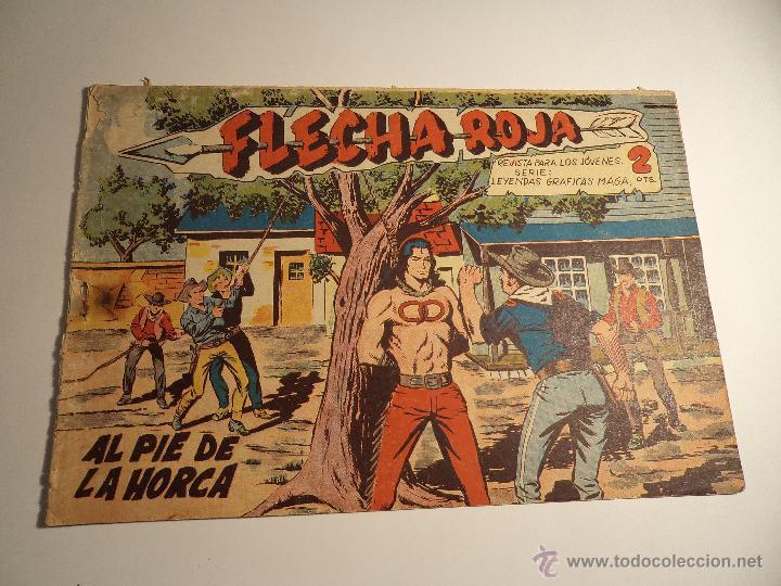 FLECHA ROJA. Nº 37. MAGA. (A-5) (Tebeos y Comics - Maga - Flecha Roja)