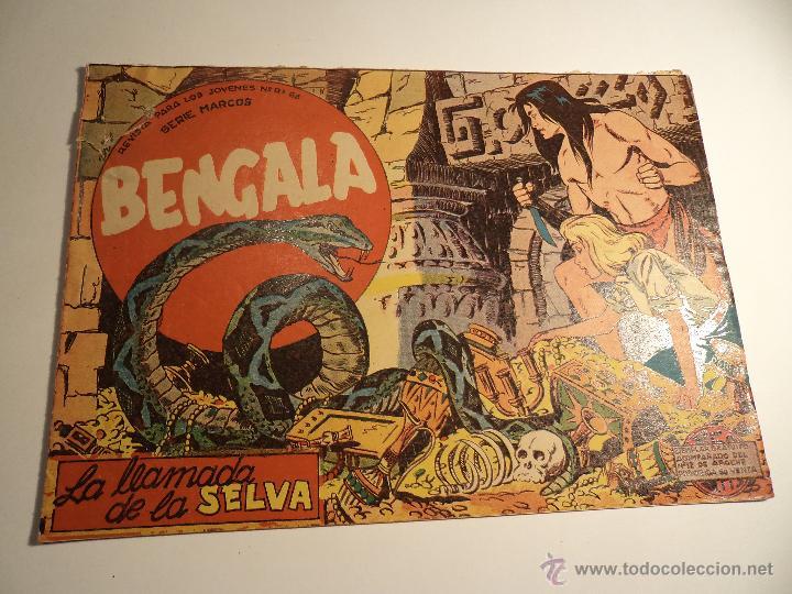 BENGALA. Nº 2. MAGA. (A-5) (Tebeos y Comics - Maga - Bengala)