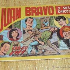 Tebeos: TEBEOS-COMICS CANDY - JUAN BRAVO - Nº 12 - MAGA - 1953 - JOSE ORTIZ - DIFICIL *BB99. Lote 43270974