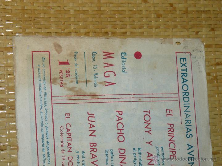 Tebeos: TEBEOS-COMICS CANDY - JUAN BRAVO - Nº 12 - MAGA - 1953 - JOSE ORTIZ - DIFICIL *BB99 - Foto 2 - 43270974