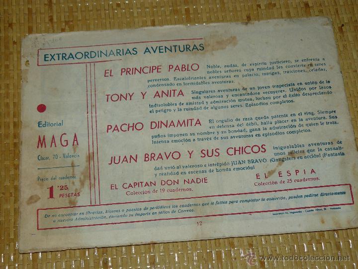 Tebeos: TEBEOS-COMICS CANDY - JUAN BRAVO - Nº 12 - MAGA - 1953 - JOSE ORTIZ - DIFICIL *BB99 - Foto 4 - 43270974