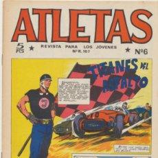 Tebeos: ATLETAS Nº 6. MAGA 1965.. Lote 43359196