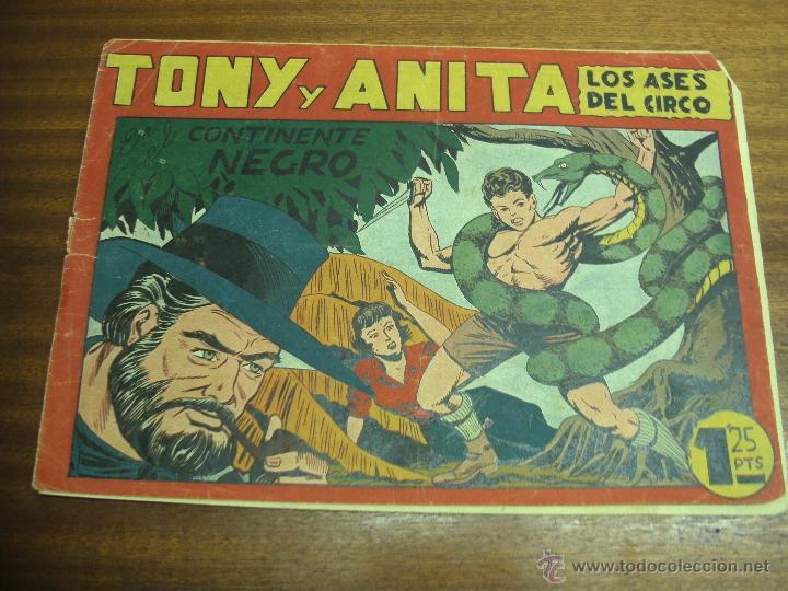 TONY Y ANITA Nº 18: EN EL CONTINENTE NEGRO / MAGA ORIGINAL (Tebeos y Comics - Maga - Tony y Anita)