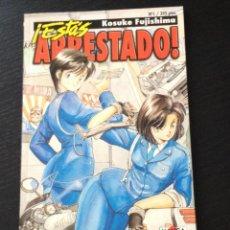 Tebeos: ESTAS ARRESTADO - Nº 1 NORMA EDITORIAL - MANGA - KOSUKE FUJISHIMA. Lote 43475221