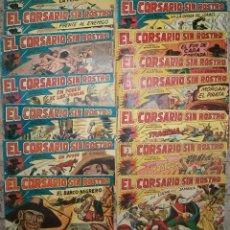 Tebeos: EL CORSARIO SIN ROSTRO (MAGA) 42 EJ. (COMPLETA). Lote 43654238