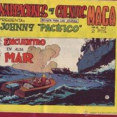 Tebeos: MAGA - NARRACIONES Y CUENTOS JOHNNY PACÍFICO Nº17. Lote 44101035
